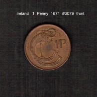 IRELAND    1  PENNY  1971  (KM # 20) - Ireland