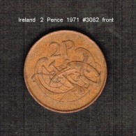 IRELAND    2  PENCE  1971  (KM # 21) - Ireland