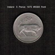 IRELAND    5  PENCE  1970  (KM # 22) - Irland