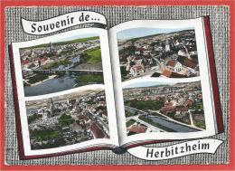 68 - HERBITZHEIM - Multivues - 2 Scans - France