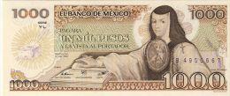 BILLET # MEXIQUE # 1985 # PICK 741 # 1000 PESOS # NEUF # - México