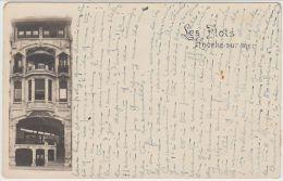 19624g KNOCKE - Sur - MER - Les FLOTS - Carte Photo - Knokke