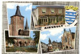 AIRVAULT. -   Multivues.  CPM Dentelée - Airvault