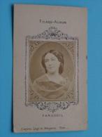 FARGUEIL - Format CDV Kaart / Anno 19?? Collection Figaro-Album ( D´après Legé Et Bergeron / Zie Foto Voor Détails ) ! - Oud (voor 1900)