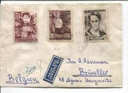 Bulgaria Sofia 1959 Registered Cover To Belgium Brussels  PR341 - Briefe U. Dokumente