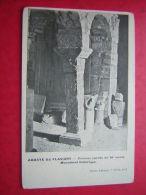 CPA  21  ABBAYE DE FLAVIGNY  COLONNE CARREE DU XI SIECLE  MONUMENT HISTORIQUE  PHOTO ABBAYE 7e SERIE N° 5    NON VOYAGEE - France
