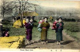 JAPON  -   NURSE MAID GIRLS - Autres