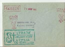 PLl Solidarnosc 08,1980 - Machine Stamps (ATM)