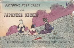 JAPON - Envelope -  Geisha - Non Classés