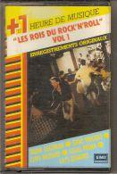 K7 Audio. LES ROIS DU ROCK'N'ROLL.vol 1.Eddie COCHRAN, Wanda JACKSON, Gene VINCENT, Louis PRIMA, Roy BROWN, ESQUERITA. - Cassettes Audio