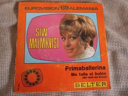 Siw Malmkvist-Primaballerina-Eurovision 69 Alemania - Discos De Vinilo