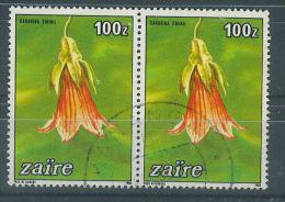 VEND BEAUX TIMBRES DU ZAIRE N° 860 EN PAIRE !!!! (b) - 1990-96: Oblitérés