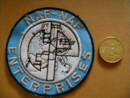 écusson Tissu NAF NAF, Enterprise, Europe - Ecussons Tissu