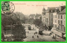 Les Pyrénées Illustrées-PAU-Rue De La Préfecture(recto Verso) - Pau