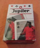 Jeu 52 Cartes FOOTBALL : Les Diables Rouges, Equipe Nationale Belge. Rode Duivels. Carta Mundi. 3 Scans - Cartes à Jouer Classiques