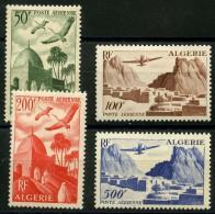 Algerie (1946) PA N 9 à 12 * (Charniere) - Algérie (1924-1962)