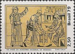 BRAZIL - NATIONAL ACADEMY OF MEDICINE, 50th ANNIVERSARY 1979 - MNH - Brasil