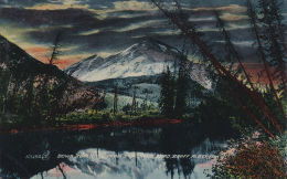 Down Bow River From Sundance, BANFF, Alberta, Canada, 1900-1910s - Banff