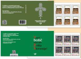 NEW - SLOVENIA 2013 - CHRISTMAS - 2 BOOKLETS WITH 12 STAMPS EACH - Slovénie
