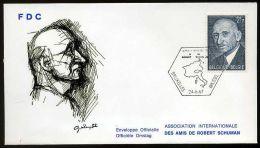 28993) Belgien - Michel 1477 - FDC - Robert Schuman - FDC