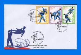 VN 2013-0004, ´Traditional Martial Arts´ FDC - Vietnam