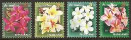 THAILAND 2007 - New Year, Flowers - Set MNH - Thailand
