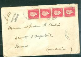 Lettre    Recommandé ( Laferrière  - Mal Venue ) Affranchie Par MARIANNE DE DULAC  691 X 4  Phi15015 - 1944-45 Marianne Of Dulac