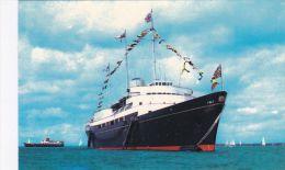 SHIPPING . ROYAL YACHT BRITTANIA - Paquebots