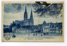 CHARTRES                PLACE CHATELET - Chartres