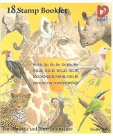 """NAMIBIA """"FLORA AND FAUNA 18 STAMP BOOKLET"""" 1997 NEW - Namibia (1990- ...)"""