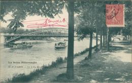 75 PARIS 16 / L'Ile Des Cygnes Et La Passerelle Du Chemin De Fer / - Arrondissement: 16