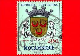 MOZAMBICO - Usato -  1961 - Stemma Della Città Di Vila Antonio Enes - 2.50 - Mozambique