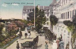 Bermuda Terrace Hamilton Hotel 1924 - Bermudes
