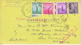 U.S.  POSTAL  HISTORY COVER    SPECIAL DEL. PREXY  1941  With  LETTER - United States