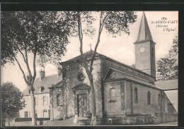 CPA Saint-Benin-d'Azy, L'Église - Frankreich