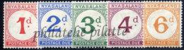 -Nyassaland Taxe 1/5* - Malawi (1964-...)