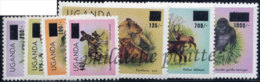 -Ouganda  334/40** - Uganda (1962-...)