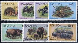 -Ouganda  343/49** - Uganda (1962-...)