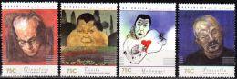 ! ARGENTINE / ARGENTINA: Mi #2364-67 Yv #1978-81 Argentinian Musicians & Composers. Art (1997) MNH / Neufs *** - Argentinien