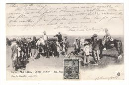 "ARGENTINE  /  "" LA  TABA ""  /  JUEGO  CRIOLLO  ( Cowboys, Chevaux ) /  Edit.  S. RIMATHE  N° 94 - Argentine"