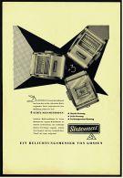 Reklame Werbeanzeige 1956 ,   Sixtomat Belichtungsmesser Von Gossen / Erlangen - Photographica
