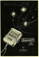 Reklame Werbeanzeige 1956 ,   Sixtomat Belichtungsmesser Von Gossen / Erlangen - Ohne Zuordnung