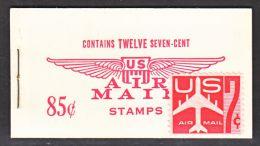 U.S. BK C 8   BOOKLET   ** - Air Mail