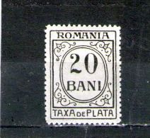1921/26  -   FRAIS DES PAIEMENT Mi No 54 Et Yv No 59 - Port Dû (Taxe)