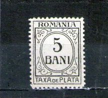1921/26  -   FRAIS DES PAIEMENT Mi No 52 Et Yv No 57 - Port Dû (Taxe)