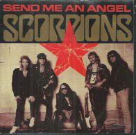 "45 Tours SP - SCORPIONS  - MERCURY 868050  - "" SEND ME AN ANGEL "" + 1 - Vinyl Records"