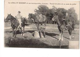 C P A----THEMES-CHEVAL--le Célèbre D Rouhet Et Incomparables Ses Juments-travail De Plein Air Au........-voir 2 Scans - Horses