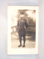 Carte Photo. Foto Studio. Militaire Turc. - Krieg, Militär