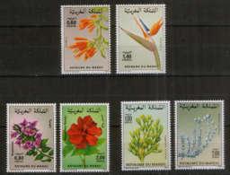 Marokko - 3 Sätze Blumen Flora ** // Morocco Mnh Flowers - Pflanzen Und Botanik
