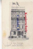 P  11 -----  Bremen Fürstenhof  Hiotel Bes. Gedorg Schrader  19.6.1911 Nach USA - Bremen